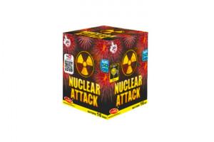 Nuclear Attack wyrzutnie Klasek -Hurtownia Fajerwerek Etna